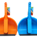 Cleanhouse Neon Colored, Dust Pan And Hand Brush With Rubber Lip. Ideal For IndoorOutdoor Use, Quick Collecting Of Dirt, Crumbs, Broken Glass And Leaves. For Home, Kitchen And Office Use – CV88010