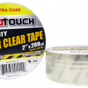 ProTouch Clear 2 Inch Polypropylene 200 Yard Packaging Tape CH91119