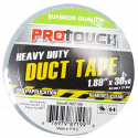 Protouch Heavy Duty Duct Tape 1.89 inches in Width and 30 yards in Length, Grey, Industrial Strength Tape, No Residue, All Weather and Tear by Hand. Ideal for Packaging, Wrapping, Sealing, Bundling, Repair Craft Activities and More – CH87199