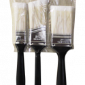 ProTouch Paint Brush 3 Pc Set Assorted for DIY's & Professionals Precision Defined Heavy-Duty Professional 3 Piece Paintbrush Set, with Firm Bristles and Durable Handles For Indoor and Out Door Uses (CH91129)