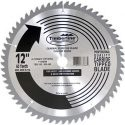 "Timberline 12"" Circular Saw Blade Carbide Tipped Miter or Stationary 12 Inch D x 60T ATB, 0 Degree, 1 Inch Bore, Circular Saw Blade 12-Inch 60-Tooth Fine-Finish Professional Woodworking Saw Blade for Miter Saws and Table Saws  300600 (AMTL 037)"
