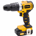 WORKSITE 3-Speed Hammer Drill Cordless, 1/2inch, Brushless, 20V Lithium-Ion Battery, Reversible Button, Optimized Shape & Rubber Hand Grip for easy Control, Automatic Spindle Lock, Built-in LED Work Light. The high power, high efficiency brushless motor that delivers up to 57% more run time over brushed CD320H