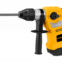 Worksite Rotary Hammer Drill 1500W, 13 Amps, SDS-Plus. 1-1/4 Inch, Vibration Control and Safety Clutch, Heavy Duty Demolition Hammer for Concrete. Three modes: Chisel Mode, Hammer drill mode,  Drill mode. EASY TO OPERATE, Ergonomic design, Drill Through Anything, Powerful Motor ERH236