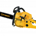 Worksite Chain Saw Gasoline 52CC, Stroke Bar Length 20inch, Ideal for tree pruning, land cleaning, firewood cutting, storm clean-up and more. Comfortable reduced vibration handle, Maximum durability for tough applications GCS117