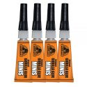 Gorilla Glue Original Minis 3 Grams, 4 Pack, Incredibly Strong And Versatile. The Leading Multi-Purpose Waterproof Glue. Ideal For Tough Repairs On Dissimilar Surfaces, Both Indoors And Out – 5000503