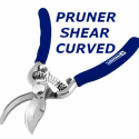 "TC PRUNER SHEAR CURVED 8.5"" 1263 TC1263 (HW001)"