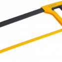 Worksite Hacksaw Frame with blade 12 inches (300mm), Comfortable Nylon two-color handle WT3059