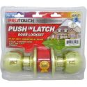 Gold Push-In Latch Door Lockset (CH82195)