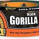 Gorilla Tape Black 12yds, Heavy Duty And Double Thick. Ideal For Indoor And Outdoor Use And Made To Stick To Rough, Uneven, Unforgiving Surfaces Like Like Wood, Stone, Stucco, Plaster, Brick And More.  12 Yards, 60124