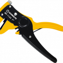 Worksite Wire Stripper Cutter, 7inch(175MM), Made of Highly Durable Steel Precision Forged, Extremely Sharp Blade Allows for multi-stripping and cutting, Automatically Adjusts According to Wire Size, Rust-Resistant Finish for Protection. Cuts Copper, Brass, Iron, Aluminum and Steel Wire WT1153