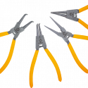 "Worksite Circlip Plier set 4pcs, Heavy Duty 7-inch Internal/External Circlip Pliers Kit (Tip Diameter 5/64"")-Straight/Bent Jaw – Cr-V Steel – for Multi-applications: For Ring Remover, instant holding power, easy to reposition during assembly, fastening, and gluing work. Snap Ring Plier Set includes: 1x 7-Inch Straight Tip Internal Circlip Pliers 1x 7-Inch Straight Tip External Circlip Pliers 1x 7-Inch Bent Tip Internal Circlip Pliers 1x 7-Inch Bent Tip External Circlip Pliers WT1287"