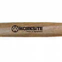 Worksite Stoning Hammer 4.5LBS (2000G) Wooden Handle, DIY Use,  light demolition work, cutting stone or metal with a chisel Hard Wearing, Durable. Perfect for the home, handyman, the Craftsman WT3084