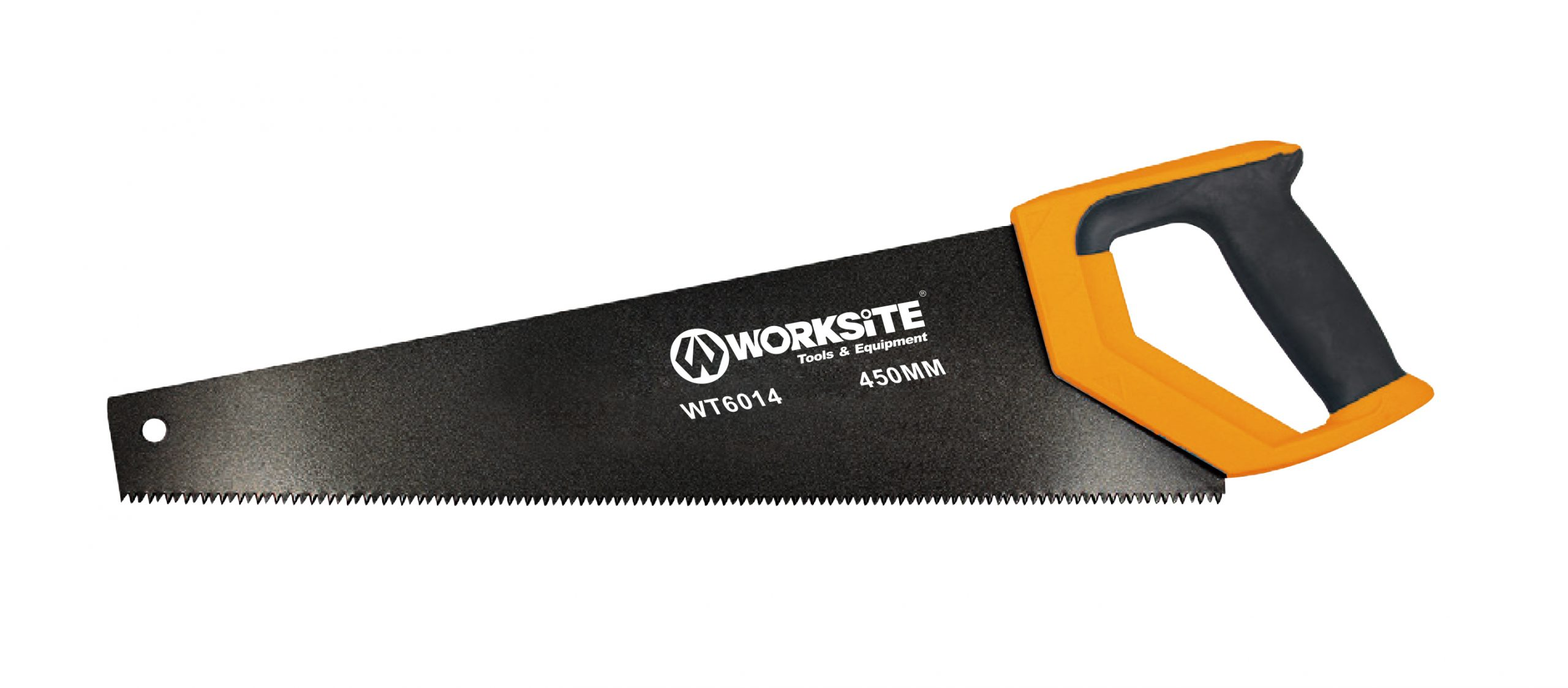 Worksite Hand Saw 18inches/20inches. 3 sided precision ground and induction hardened teeth for easy and perfect cutting. Perfect Saw for general and specific purposes for both professional and amateur DIY maintenance or work. WT6014