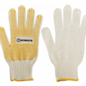 Worksite Safety Work Gloves String Knit 10(XL), Comfortable with anatomical shaped fit, allowing excellent freedom of movement and reduction of hand fatigue. Fully knitted ribbing protection, Light stretch for easy on and off. High grade, long lasting. PVC dots provide extra grip to carry boxes without slipping. Used in warehouses, chemist, movers, material handling, gardeners, automotive, sanitation; and a good item to keep in the house, and garage. WT9500B