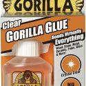Gorilla Clear Glue 1.75 ounce  Bonds Wood, Stone, Metal, Ceramic, Foam, Glass & and more-4500104