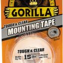 Gorilla Glue Tough And Clear Mounting Double Sided Tape 1inch x 60inches-6065003