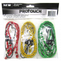 ProTouch Adjustable, 6PC Bungi Cord Set – CH81939