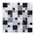 Morcart 3D Mosaic Tiles Peel And Stick Wall Tile For Kitchen Living Room Bathroom Laundry Room Backsplashes-10inches X 10inches -MT1003