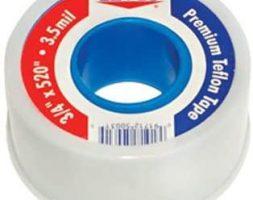 EZ-Flo Premium Teflon Thread Seal 1/2″ X 260″ – 3.5mil – EZF072