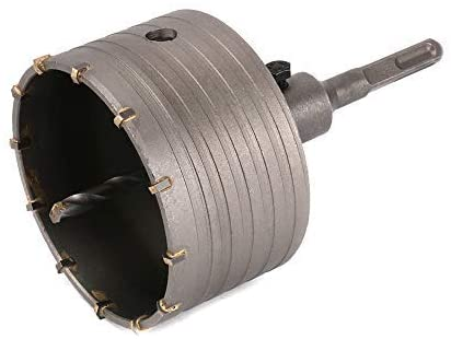 Rolson 65mm T.C.T Core Drill Bit- For Drill Circular Holes In Concrete Wall. Ideal for Air Condition Installation, Piping and Many More -24922.