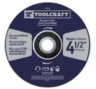 Toolcraft Cutting Disc 4 1/2″ X 1MM Blade For Extra Fine Cutting Metal – TC3456