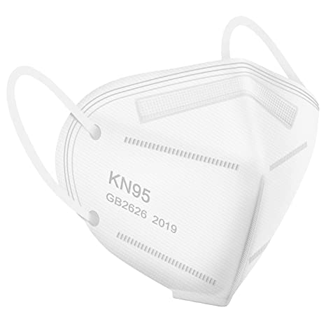 PXKN-010 – 10PCS KN95 Respirator  (5-Ply) PACK – Mask Protection Against PM2.5, Fire Smoke, Dust Cup Dust Mask Black – PXKN-010