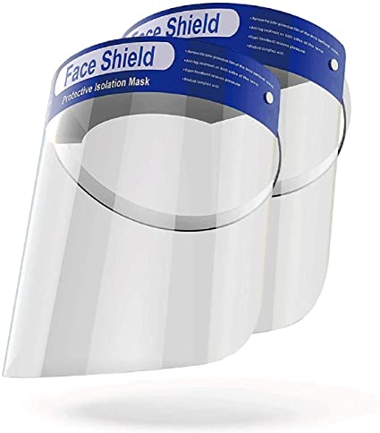 PXFS-001 – 10PCS Face Shield- Splash Guard – Reusable Face Shields – PXFS-001