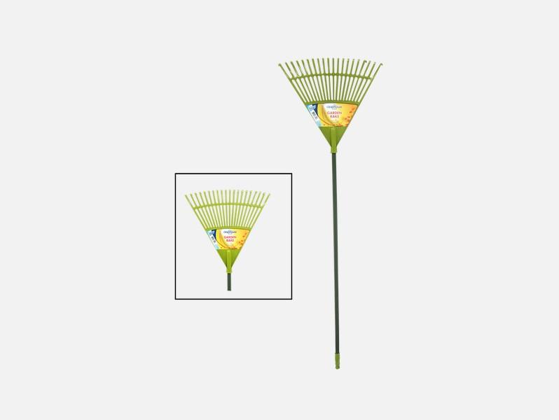 Cotton Valley – 20 Teeth Garden Rake With Metal Handle – CV77111
