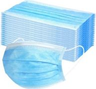 PXM-050 – 50PCS 3-Ply Disposable Protection Mask (EarLoop) – Disposable and Breathable
