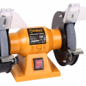 WORKSITE 6 inch Bench Grinder: Powerful 200W Electric Bench Grinder, Wheel Size 150x16mm, Grit 36&80 With Arbor: 12.7mm.  Delivers Seamless, Powerful Grinding Function for All Grinding Operations. Ideal For Garages, Machine Shops, Welding and Fabrication Shops, Industrial Shops or Even For Your Home Workshop. BG106-110v