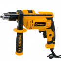 Worksite Impact Drill With Chuck Size 13mm(1/2″), 650W Impact Drill, Adjustable Speed, Reversible, EID448-110V