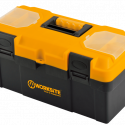 Worksite Professional Grade Quality Plastic Toolbox 14″. Great for Organizing, Tools, Craft Supplies, Garage Necessities And More. For Tradesmen, In Your Vehicle or Trunk, Garages, On Your Jobsite, Work Place and Many More  – WT8076