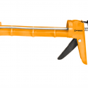 Worksite Caulking Gun With Enamel Steel Body, 230MM – 200MM thickness Drip-Free Smooth Hex Rod Cradle. Ideal For Silicone, Acrylic, Latex, Caulk, Sealants, And Adhesives And More From A Cartridge – WT9027