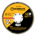 WORKSITE Flap Disc – Size 115*22mm – GRT  P40 – Suitable for most electric grinders – Ideal For Steel, Cast Iron And Sheet Steel –  XSFD115P40