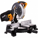 Worksite 255mm Miter Saw, Powerful, Professional and Tradesman Approved 1800w Miter Saw, Ideal for Contractors, Carpenters, Machine Shop Operators, Fabricators and Many Other Tradesmen- CMS236-110v