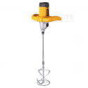 Worksite Hand Held Electric Paint Mixer, EMM114, 1400W, 2 speed, 2 Mixing Bar, Quickly Mix Batches Of Paint, Drywall Mud, Grout, And Mortar. -EMM114