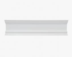 Crown Moulding- MDF 8ft Length, 3 7/8″ Width. Pattern- M24