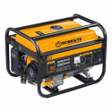 WORKSITE 3000W/3500W Gasoline Generator, 4 Stroke, 15L, Recoil & Hand And Eclectic Start – Ideal For Emergencies, Individual Power Tools, Recreation, Household, Lawn And Garden, Perfect For Outdoor and Indoor Use,. –EGT113